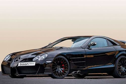 Batmobilenak is elmenne a Mansory által tuningolt Mercedes SLR McLaren