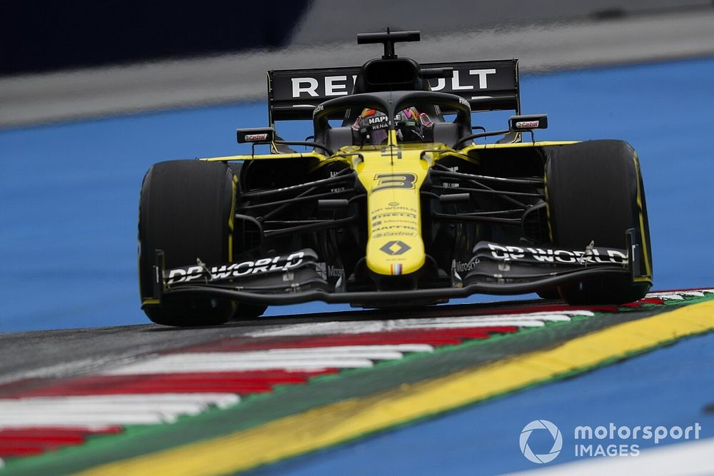 Geen motorupdates voor Renault tijdens F1-seizoen 2020