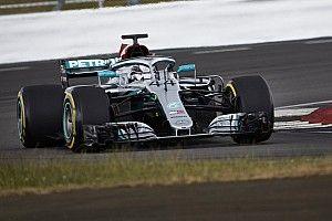 """Hamilton a retrouvé """"de bonnes sensations"""" au volant"""