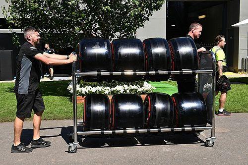 Pirelli terá que reciclar 1800 pneus após cancelamento do GP da Austrália