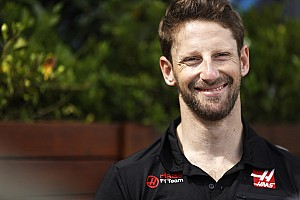 Romain Grosjean nem sokáig örülhetett a szimulátorának, kisfia azonnal befoglalta