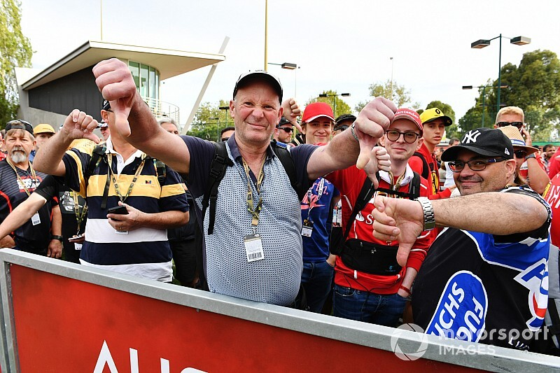 رئيس جائزة أستراليا الكبرى يشرح الارتباك الذي اختبره المشجّعون صباح يوم إلغاء السباق