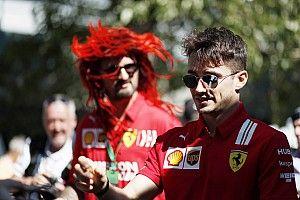 """Leclerc: """"Düzlüklerdeki hız kaybı motorla değil yere basma gücüyle alakalı"""""""