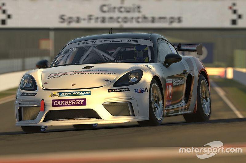 Assista à etapa de Spa-Francorchamps da Porsche Esports Sprint Challenge