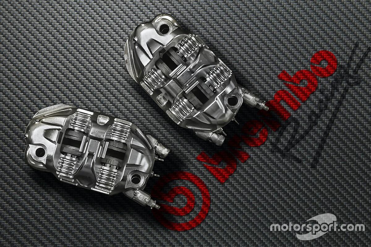 MotoGP: le pinze hanno una vita di 2.500 chilometri