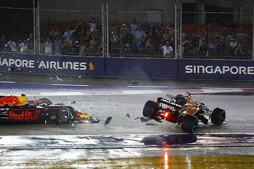 """Alonso baalt van startcrash: """"Ik had hier eerste kunnen rijden"""""""