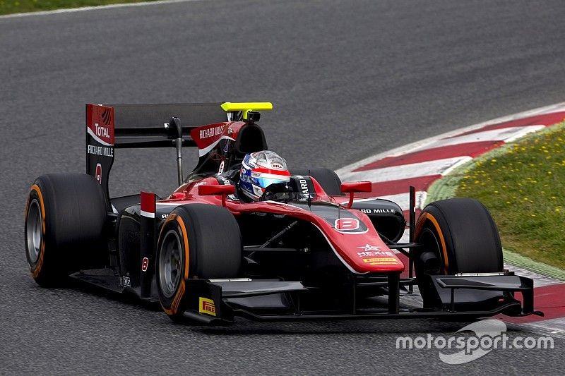 Элбон стал лучшим во второй день тестов Формулы 2