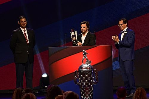 Alonso raih gelar Rookie of the Year Indy 500