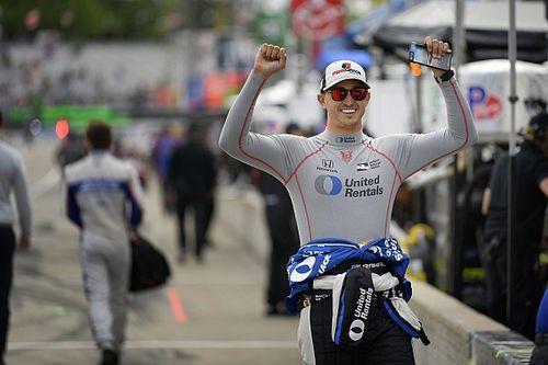 IndyCar Detroit: Rahal op pole voor eerste race Belle Isle
