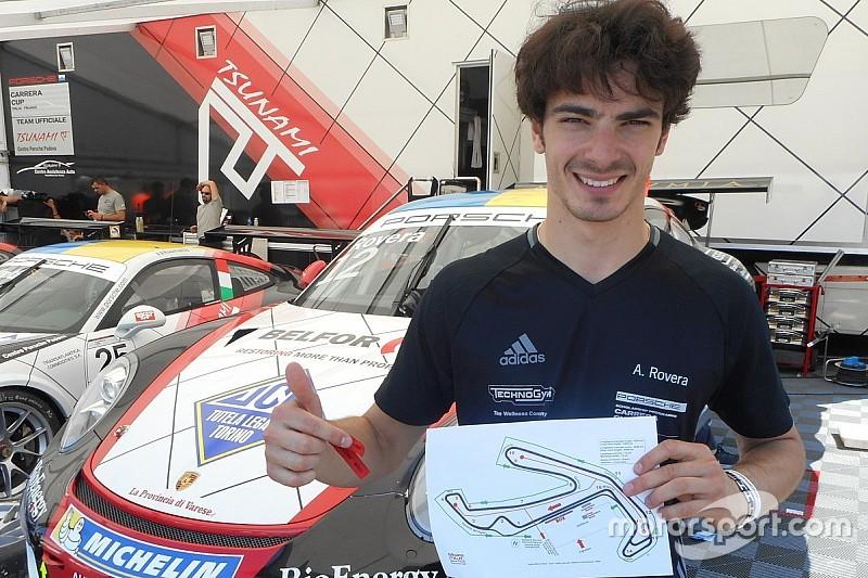 """Carrera Cup italia, """"a spasso"""" per Misano con Rovera"""