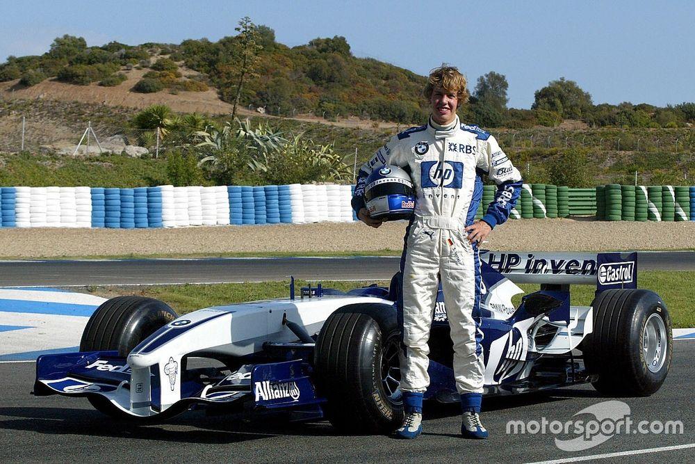 Vettel na Williams e Leclerc na Haas: relembre primeiros testes de pilotos da F1