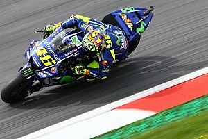 """Rossi: Tyre problem to blame for """"difficult"""" Austria grid slot"""