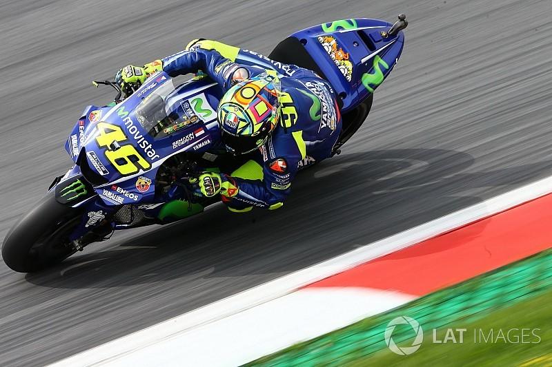 Rossi culpa pneu traseiro no quali: Era impossível melhorar