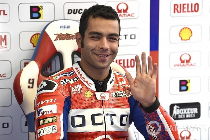 """Petrucci: """"La posizione non è buona, ma siamo vicini alle altre Ducati"""""""