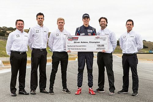 Shootout winner Askew aiming for USF2000 title in 2017