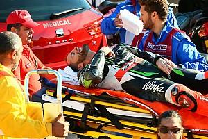WSBK Ultime notizie Frattura alla mano per Sykes: salterà il resto del weekend di Portimao
