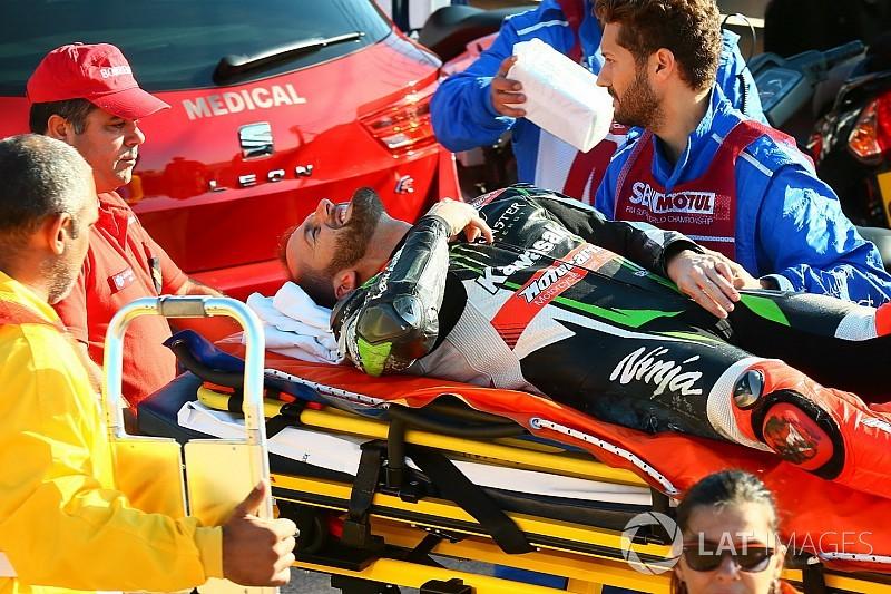 Frattura alla mano per Sykes: salterà il resto del weekend di Portimao