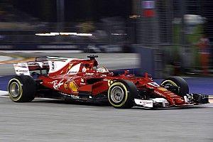 فيراري: توازن السيارة لم يكن جيّدًا في سنغافورة