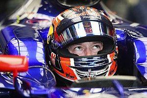 Le baquet Toro Rosso tend les bras à Kvyat