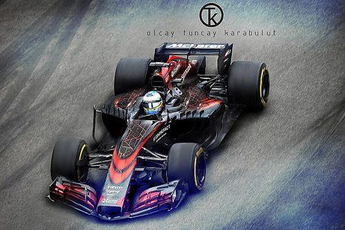 2017 McLaren-Honda fantezi tasarım
