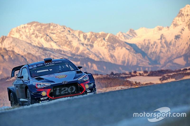 Monte Carlo WRC: Neuville pulls away as Ogier, Meeke go off