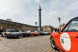 Vintage Race report Porsche crew claims last-gasp win on Rallye des Princesses