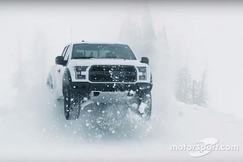 Vidéo - Ken Block brise la glace avec un Ford F-150 Raptor