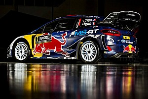 WRC Breaking news Gallery: M-Sport shows off Ogier and Tanak liveries