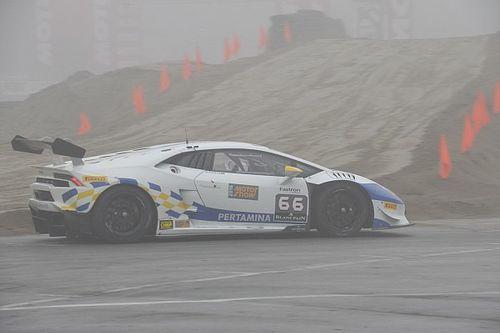 Motor Show, Lamborghini Super Trofeo: Postiglione e Costa finalisti col brivido