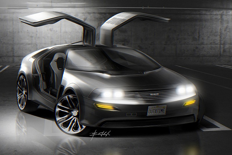 Un designer imagine la DeLorean du futur