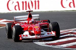 La Ferrari F2002 de Michael Schumacher aux enchères en novembre