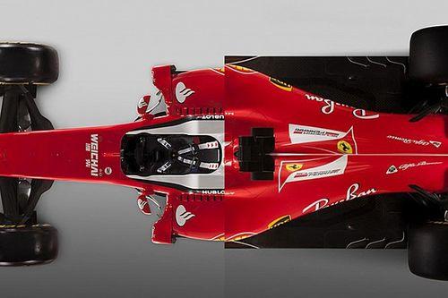 Vergelijking: De Ferrari van 2017 vs 2016