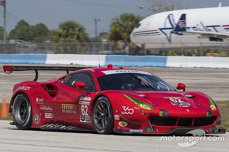 12 Ore di Sebring: Ferrari con due 488 per vincere le classi GTLM e GTD