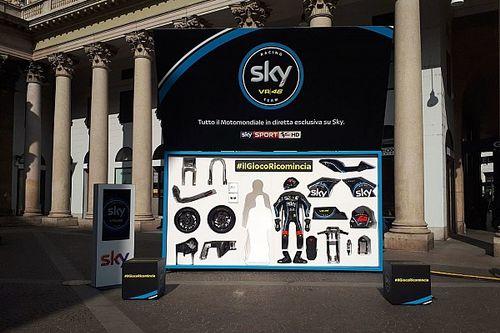 Lo Sky Racing Team VR46 mette una Moto2 in una... scatola!