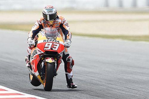 Barcelona MotoGP: Marquez beats Lorenzo to top FP2