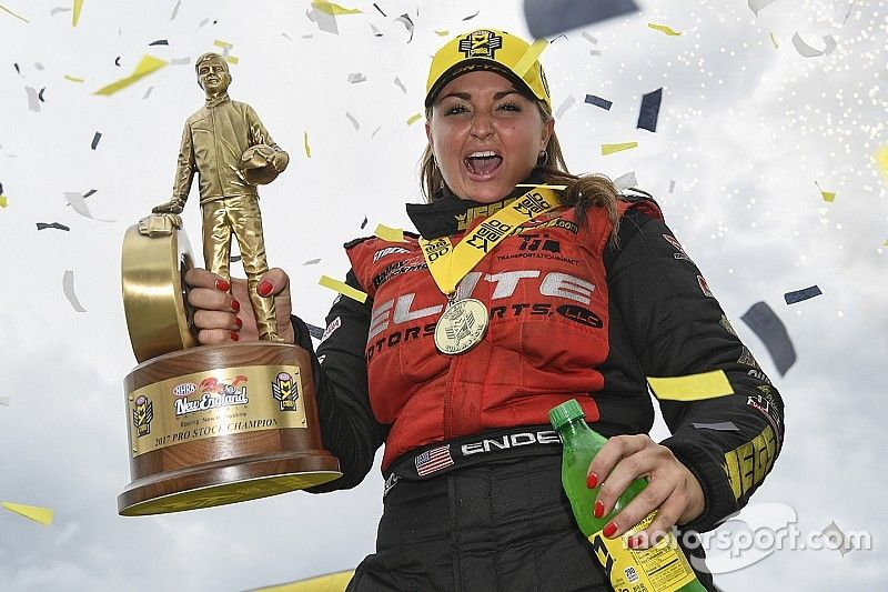 Welcome back to Victory Lane, Erica Enders