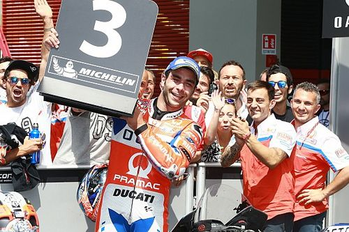 "Petrucci ""would've sold house"" for Mugello podium"