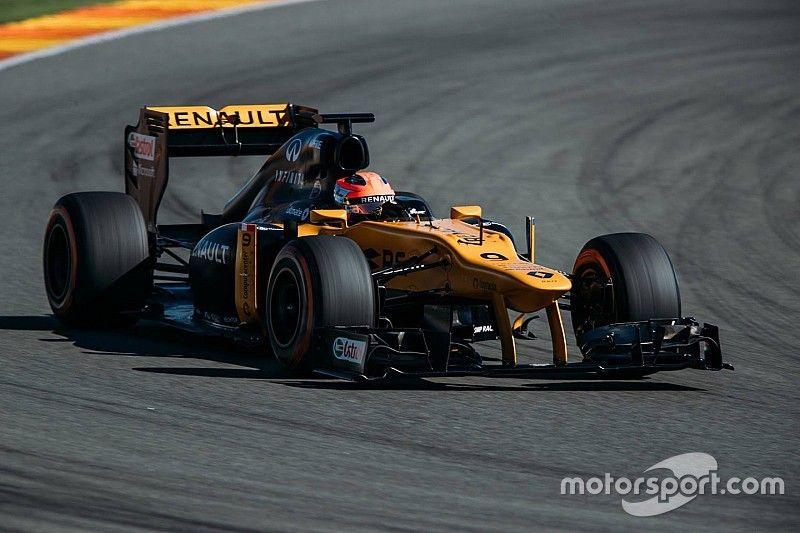 Kubica completa su test con el F1 de Renault en Valencia