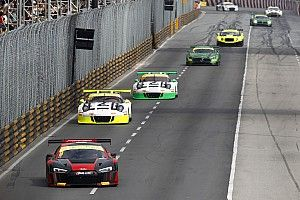 Vanthoor defends Macau safety after Audi GT flip