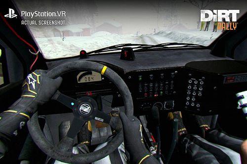 DiRT Rally akan mendukung PlayStation VR