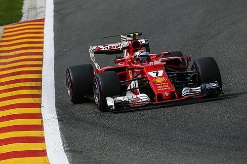 Belgian GP: Raikkonen leads Ferrari 1-2 in FP3