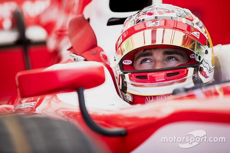 Leclerc aprende viendo cómo trabajan Vettel y Raikkonen