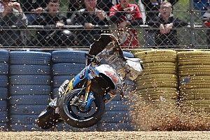 Queda de Miller assusta e Yamaha domina: imagens do sábado
