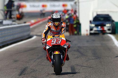 Marquez kwaad op Iannone na trainingsincident
