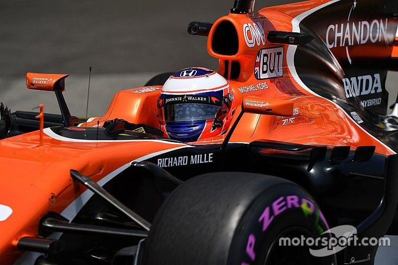 Button saldrá último pese a brillar en la clasificación