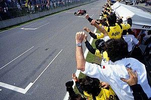 Jean Alesi felejthetetlen győzelme Kanadában a Ferrarival