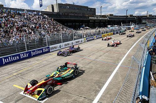 La grille de départ de la deuxième course à Berlin