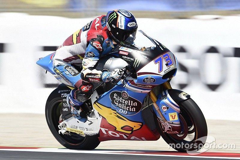 【Moto2】バルセロナ決勝:中上、苦しい11位。マルケスが母国で圧勝