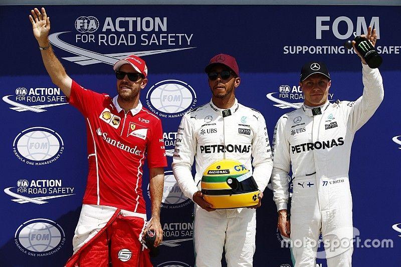 """Hamilton: Un tour """"sexy"""" et l'honneur d'égaler Senna"""