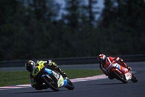 C'était un 18 août : la 1re victoire de Valentino Rossi, face à Aspar